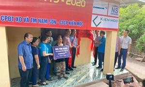 Eximbank trao tặng nhà tình nghĩa tại tỉnh Nghệ An
