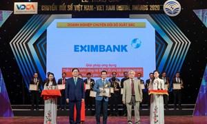 Eximbank nhận giải thưởng chuyển đổi số Việt Nam 2020
