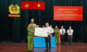 Tập đoàn Hưng Thịnh tặng gói thiết bị PCCC hơn 22 tỷ cho công an TP. Hồ Chí Minh