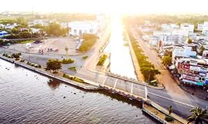 Diện mạo mới của đô thị trung tâm tỉnh Hậu Giang