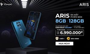 Ra mắt Vsmart Aris nâng cấp cấu hình 8GB RAM/128GB giá không đổi