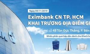 Eximbank Chi nhánh TP. HCM khai trương địa điểm giao dịch mới với nhiều phần quà hấp dẫn