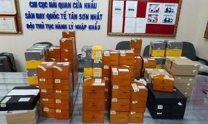 Hải quan Tân Sơn Nhất bắt giữ lô hàng gần 2.500 điếu xì gà Cu Ba nhập lậu
