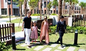 Gia đình ca sỹ Đoan Trang chọn Hồ Tràm làm nơi nghỉ dưỡng lâu dài