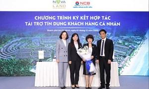 Novaland ký kết hợp tác với NCB tài trợ tín dụng khách hàng cá nhân