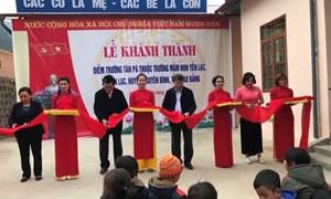 Tập đoàn Kiến Á hỗ trợ 1 tỷ đồng xây dựng trường học vùng biên giới Cao Bằng