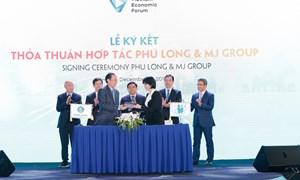 Phú Long hợp tác MJ Group phát triển dịch vụ chăm sóc sức khỏe, sắc đẹp