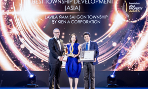 """Kiến Á được vinh danh """"Best of the best"""" tại Asia Property Awards 2019"""