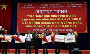 Hưng Thịnh tài trợ 25 tỷ đồng xây dựng 500 căn nhà cho người nghèo