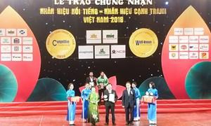 Hưng Thịnh Incons vinh dự đón nhận giải thưởng Top 10 Nhãn hiệu cạnh tranh Việt Nam 2018