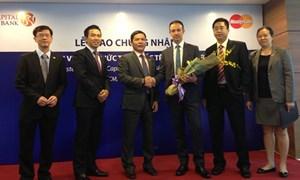 Viet Capital Bank gia nhập MasterCard