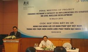 Tổng kết dự án thực hiện chiến lược phát triển hạt nhân dân sự