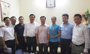 PJICO tổ chức thăm hỏi cựu vận động viên điền kinh Vũ Bích Hường