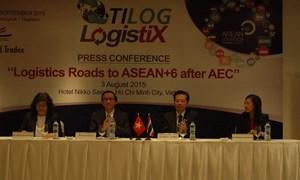 Logistics đường tới ASEAN+6 sau khi thành lập AEC