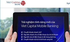 Ứng dụng chuyển tiền nhanh 24/7 qua Viet Capital Mobile Banking