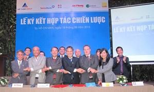 Tập đoàn Đất xanh hợp tác phát triển dự án căn hộ cao cấp
