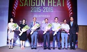 Viet Capital Bank tham gia tài trợ cho đội bóng rổ Saigon Heat
