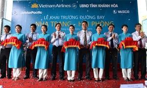 Vietnam Airlines khai trương đường bay Nha Trang – Hải Phòng