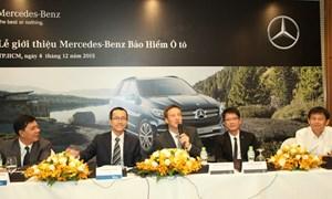 Sản phẩm bảo hiểm mới dành cho người sở hữu xe Mercedes-Benz