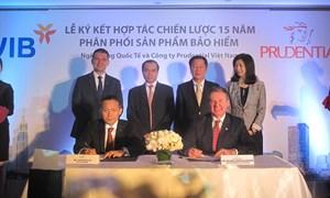 Lễ ký kết hợp tác chiến lược giữa VIB và Prudential
