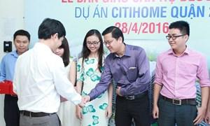 Kiến Á giao nhà sớm block A dự án Citihome Quận 2