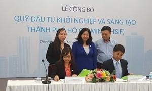 TP. Hồ Chí Minh ra mắt Quỹ Đầu tư khởi nghiệp và sáng tạo cho thanh niên