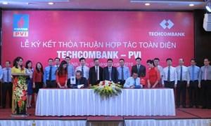 Ký kết thỏa thuận hợp tác toàn diện giữa Techcombank và PVI