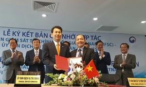Việt Nam - Hàn Quốc ký kết ghi nhớ trong lĩnh vực tài chính