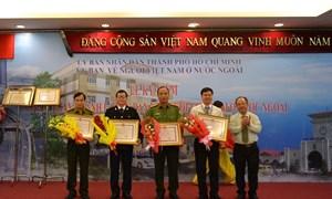 Hải quan Tân Sơn Nhất đón nhận Bằng khen của Chủ tịch UBND TP. Hồ Chí Minh
