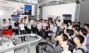Bosch cung cấp hệ thống an ninh và các thiết bị giám sát