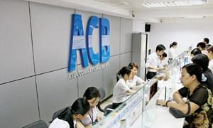 Ngân hàng ACB báo lãi 828 tỷ đồng trước thuế