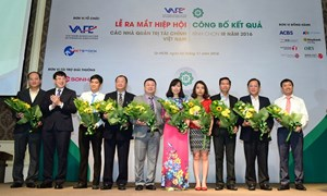 Ra mắt Hiệp hội các nhà quản trị tài chính Việt Nam và công bố kết quả bình chọn IR