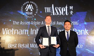 VIB nhận hai giải thưởng quốc tế cho Ứng dụng di động MyVIB