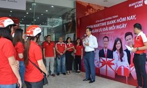 Maritime Bank trao 30.000 giải thưởng tiền mặt dịp sinh nhật