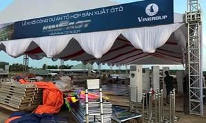 Vingroup khởi công nhà máy sản xuất ô tô ở Hải Phòng vào ngày Quốc khánh