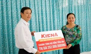 Kiến Á Group trao tặng 400 triệu đồng cho cụm trường học tại Khu đô thị Cát Lái