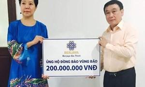 Berjaya Gia Thịnh chung tay cứu trợ đồng bào lũ lụt miền Trung