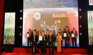 """Vietbank được vinh danh """"Thương hiệu tiêu biểu APEC - Doanh nghiệp mạnh APEC"""""""