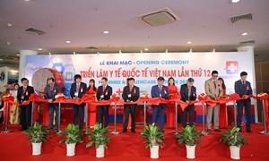 400 doanh nghiệp tham gia triển lãm quốc tế y tế tại Việt nam
