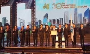 Công ty xây dựng Hòa Bình đón nhận Huân chương Lao động hạng Nhì