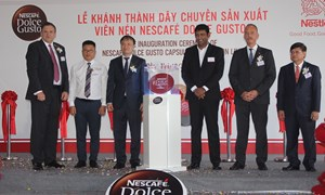 Nestle Việt Nam khánh thành nhà máy sản xuất viên nén cà phê cao cấp