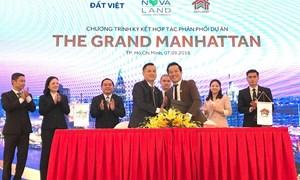 Dự án The Grand Manhattan công bố các đại lý phân phối chính thức