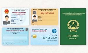 [Infographics] 5 loại giấy tờ tùy thân thay đổi từ 2020