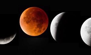 [Video] Vì sao Mặt Trăng chuyển màu đỏ khi nguyệt thực?