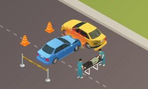[Infographics] Mỗi ngày hơn 20 người chết vì tai nạn giao thông