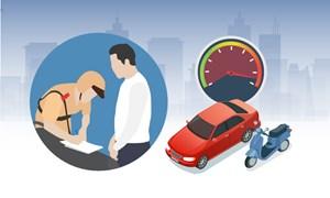 [Infographics] Ôtô chạy quá tốc độ bị phạt cao nhất 12 triệu đồng