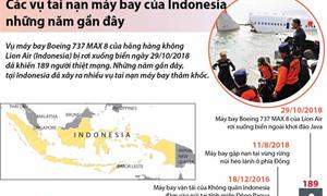 [Infographics] Các vụ tai nạn máy bay của Indonesia những năm gần đây