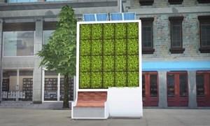 [Video] London lắp cây nhân tạo hấp thụ ô nhiễm