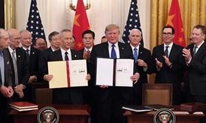 [Infographics] Nội dung, ý nghĩa thỏa thuận thương mại giai đoạn 1 Mỹ - Trung