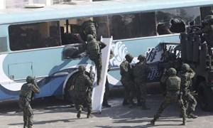 [Video] Đài Loan phô diễn sức mạnh quân sự sau bầu cử